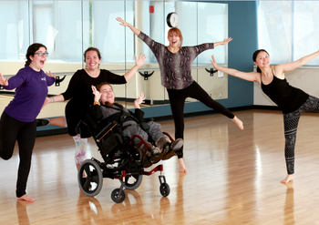 Inclusive dance classes