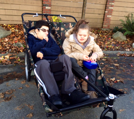 Canassist Double Stroller For Teens