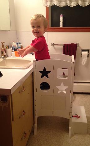 Canassist Bathroom Steps For Toddler