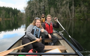 The Canoe Paddle Support allows adventurers of all abilities to enjoy the outdoors!
