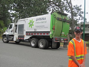 Ben was fascinated by garbage trucks from an early age and was able to land his dream job!