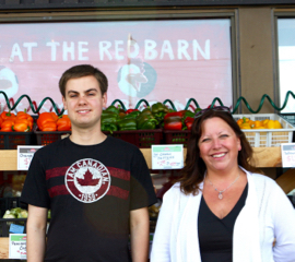 Marcel and Trena Green of Red Barn Market.